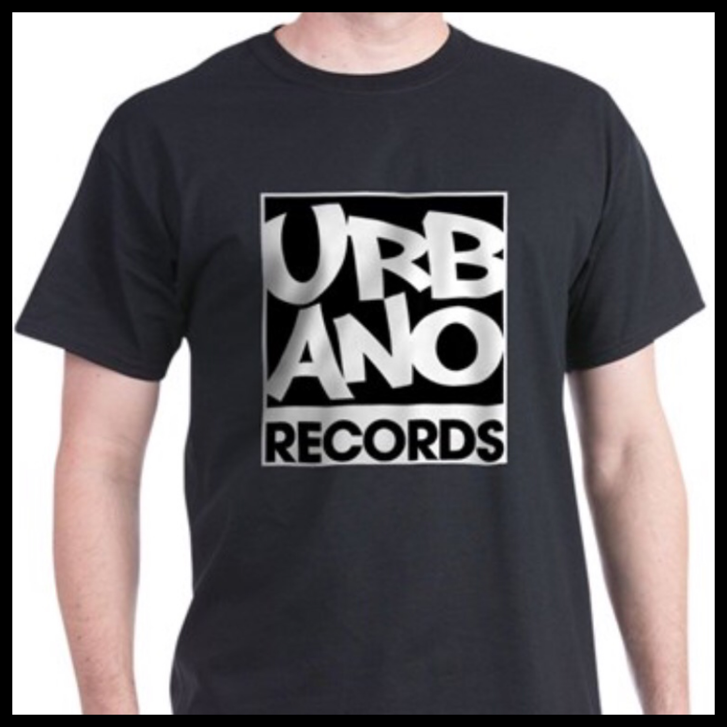 Urbano Records Black T-Shirt