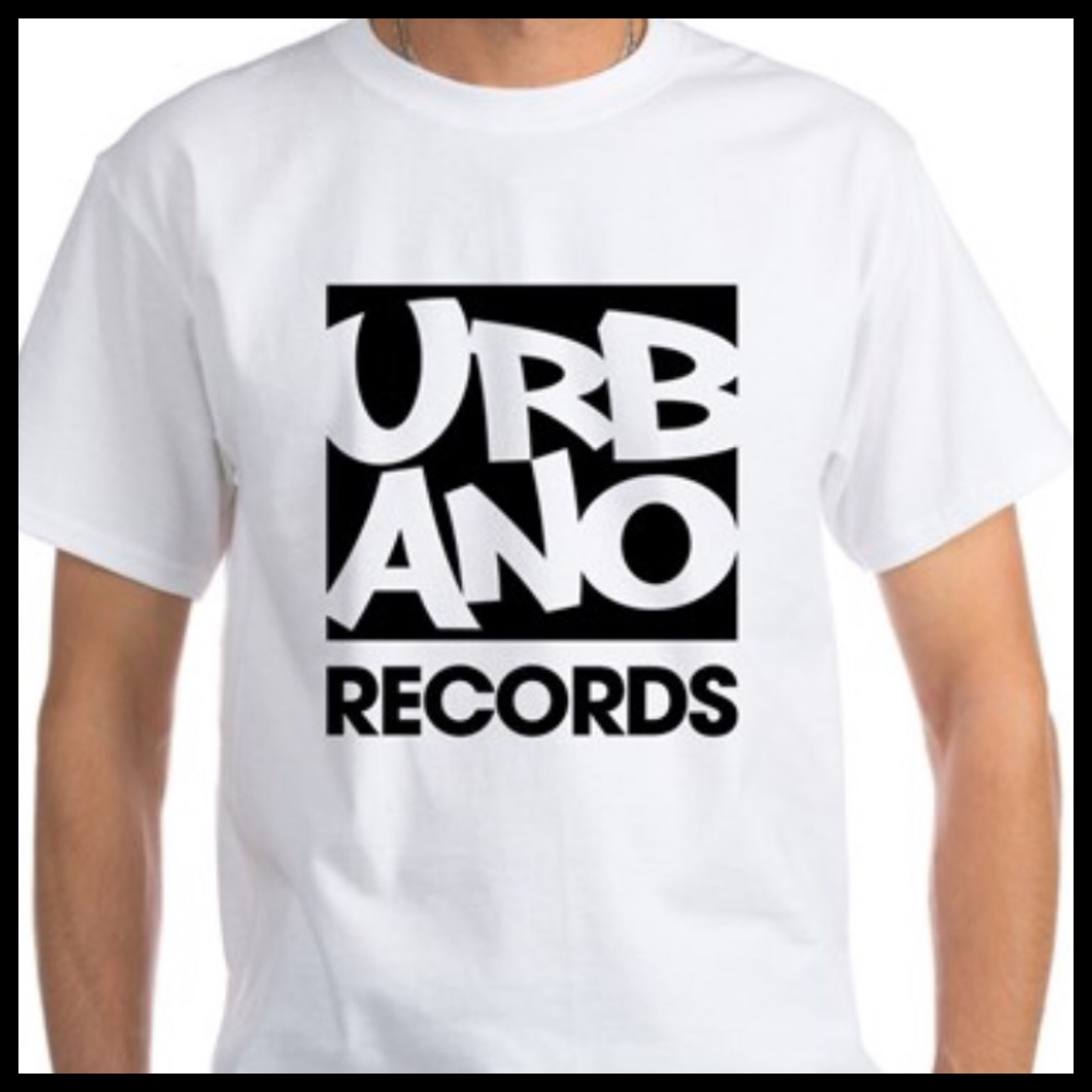 Urbano Records White T-Shirt